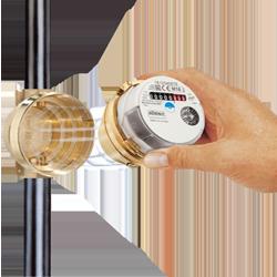 Auslesen ista wasserzähler Wasseruhr/Wasserzähler richtig